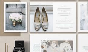 Magazine Wedding Programs Magazine Template For Photographers U0026 Planners Photographer