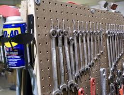Pegboard Ideas by Build A Peg Board Tool Cart By Brad Justinen Garage Tool
