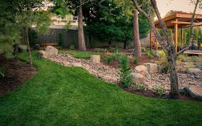 dry creek beds paradise restored landscaping