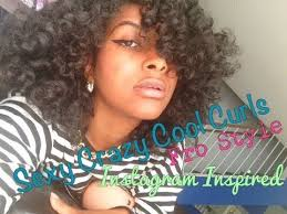how to make african american short hair curly natural hair perfect curly afro tutorial youtube