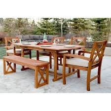 6 Seat Patio Dining Set Outdoor Dining Tables Shop The Best Deals For Nov 2017
