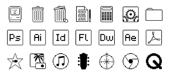 printable area old os mac os old school icon collection download installation