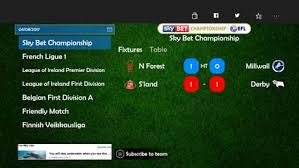 sky bet chionship table get goal centre microsoft store