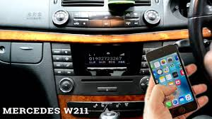 mercedes e class bluetooth mercedes w211 connect mobile to bluetooth code 2003 2009 e class