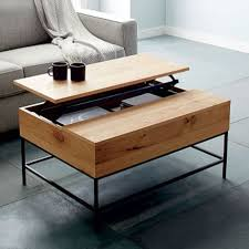 mirror coffee table west elm trolley cart mining about custom made