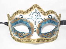 carnival masks light blue glitter venetian masquerade mask mardi gras wedding