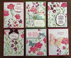 painted cards for sale s inkie fingers painted blooms