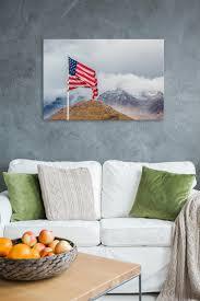Boat Flag Mount American Autumn Rogue Aurora Photography