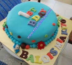 home decorated cakes easy fondant birthday cake ideas image inspiration of cake and