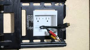 how to hide wires wall mount tv powerbridge shows how to hide the cords designing spaces youtube