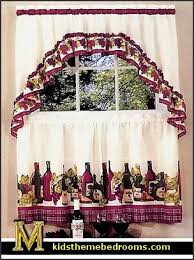 Kitchen Curtains With Grapes by Decorating Theme Bedrooms Maries Manor Tuscany Vineyard Style