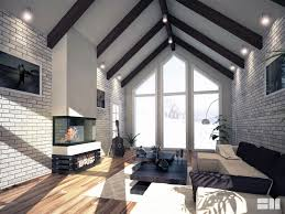 Scandi Living Room by Sm Visualisations Scandinavian Living Room