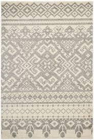 Rustic Rug Amazon Com Safavieh Adirondack Collection Adr107b Ivory And