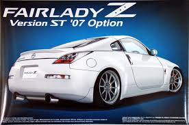 nissan fairlady 2017 aoshima 40324 nissan fairlady z version st 2007 option 1 24 scale