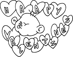 printable happy valentines day coloring pages valentine coloring