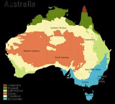 what is a climate map australia climate map