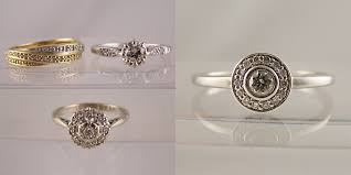 reset wedding ring remodelling ring exles before after photos part 2