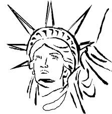statue of liberty head coloring page download u0026 print online
