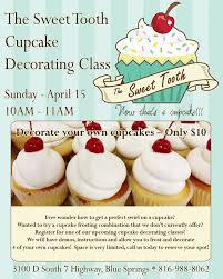 Decorate Your Own Cupcake Cupcake Decorating Class In Blue Springs The Sweet Tooth Blog