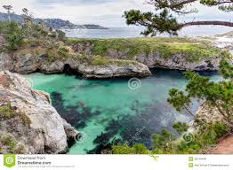 Point Lobos State Reserve Map by Point Lobos State Natural Reserve Royalty Free Stock Photos