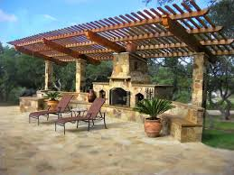 outdoor pergola designs with fireplace pergola designs attached to house