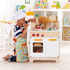 hape gourmet kitchen toddler u0026 kids wood play pretend kitchen and