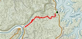 cumberland river map laurel fork laurel river dam to cumberland river kentucky