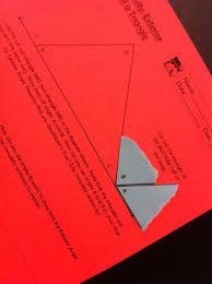 using hands on inquiry in high geometry
