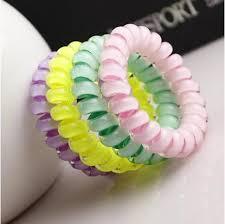 hair scrunchy 5 offhousalescrunchies telephone coil colored elastic hair bands
