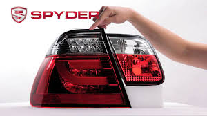 2004 bmw 330i tail lights spyder auto product showcase 2002 2005 bmw e46 3 series 4dr led