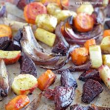 How Long To Roast Root Vegetables In Oven - balsamic oven roasted root vegetables the rising spoon
