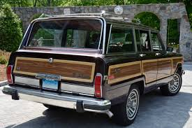 jeep wagoneer concept 1988 jeep grand wagoneer by wagonmasters hunting ridge motors