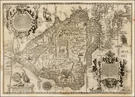 map of brasilia the description of the whole coast lying in the south seas of