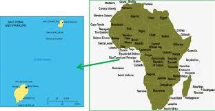 map of sao tome location of the são tomé and príncipe africa map and são tomé and