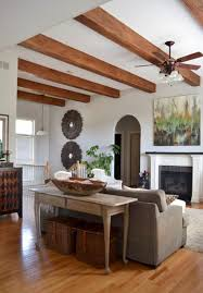 Living Room Ceiling Beams 36 Cozy Living Room Designs With Exposed Wooden Beams Digsdigs