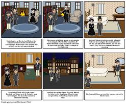 Bedroom Band The Speckled Band Storyboard By Mbudge