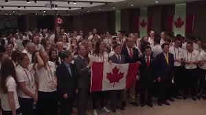 Canada Flag Bearer 2015 Summer Universiade Alicia Perrin Named Canadian Flag Bearer