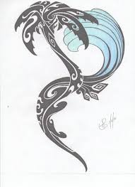 Surf Flower Tattoo Designs Best 25 Tribal Wave Tattoos Ideas On Pinterest Turtle Tattoos