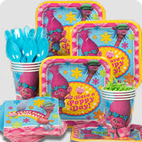 birthday party supplies trolls party supplies birthday in a box