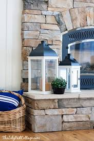 How To Decorate A Stone by Best 25 Stone Fireplace Decor Ideas On Pinterest Decorating A