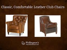 Best Leather Chairs How To Select The Best Leather Club Chair