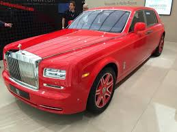 golden rolls royce rolls royce phantom louis xiii special edition debuts in geneva