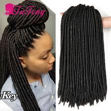 how much do crochet braids cost crochet braids faux locs crochet hair extensions 18 inch soft