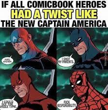 Meme Comic Characters - comic book twists by mrgoldenhat meme center