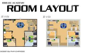 create room layout home design