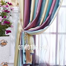 Striped Yellow Curtains Teal And Purple Romantic Unique Discount Striped Curtains