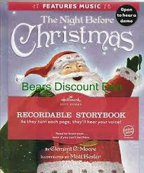 recordable books hallmark the before christmas recordable book features