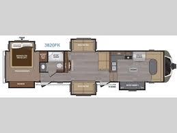 Keystone Rv Floor Plans New 2016 Keystone Rv Montana 3820 Fk Fifth Wheel At Collier Rv