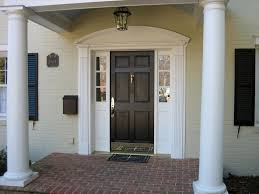 Colonial Exterior Doors Colonial Front Doors Paint Curb Appeal Pinterest Colonial