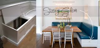 Dining Room Bench With Storage Kitchen Banquettes With Storage The Beauty Of Banquettes Storage